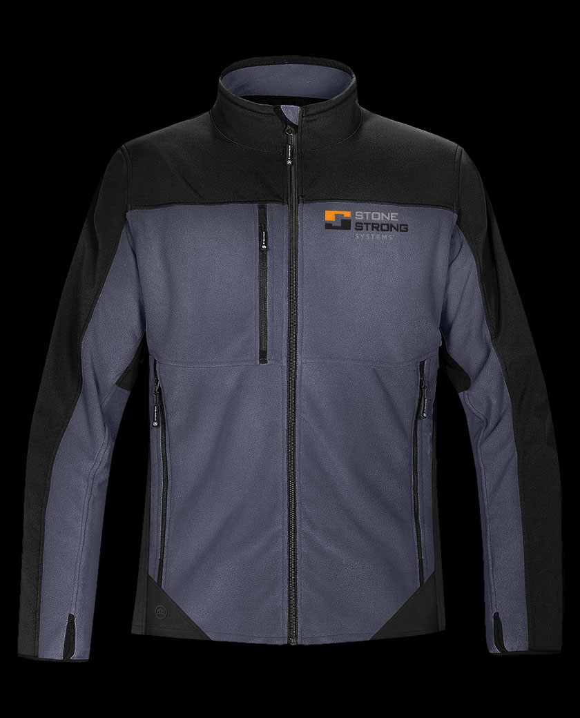 Ladies Hybrid Fleece Softshell